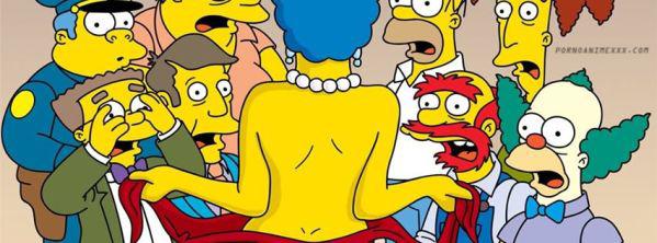 Marge Simpson Desnuda xxx Hentay (1)