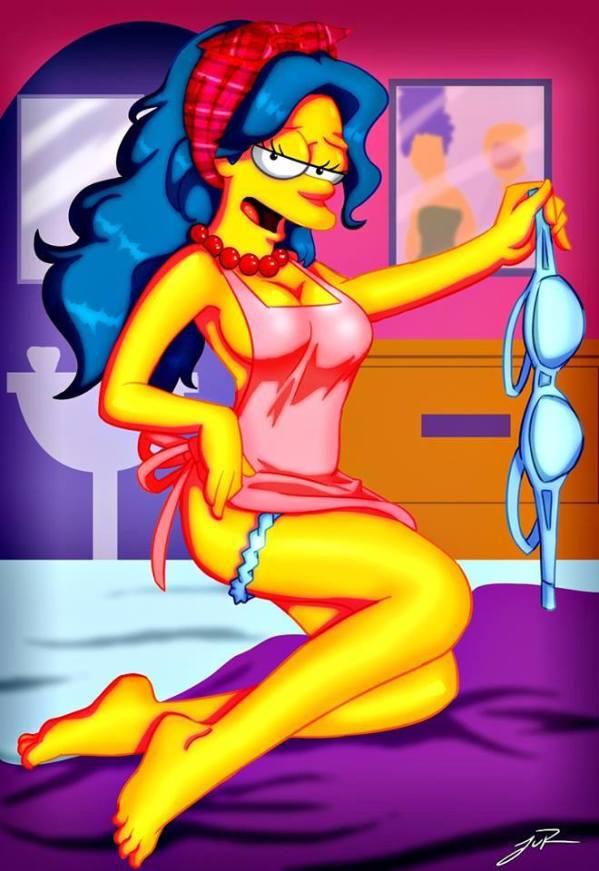 Marge Simpson Desnuda xxx Hentay (6)