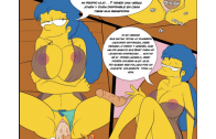 los simpsons xxx marge follando con bart
