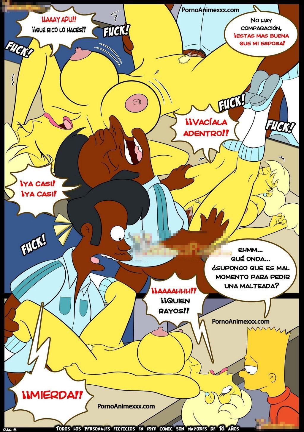 Los Simpson Porno sin censura - Los Simpson xxx - Bart y Lisa porno - Marge sexo