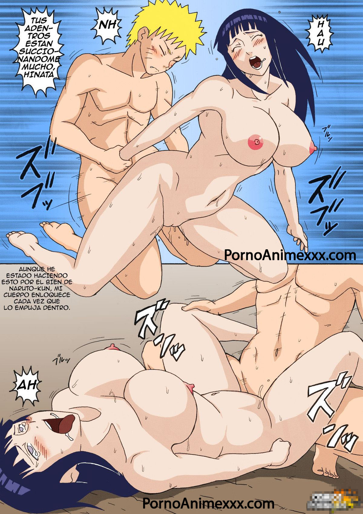 Naruto Hentai - Hinata follada - sexo con sakura - Naruto porno